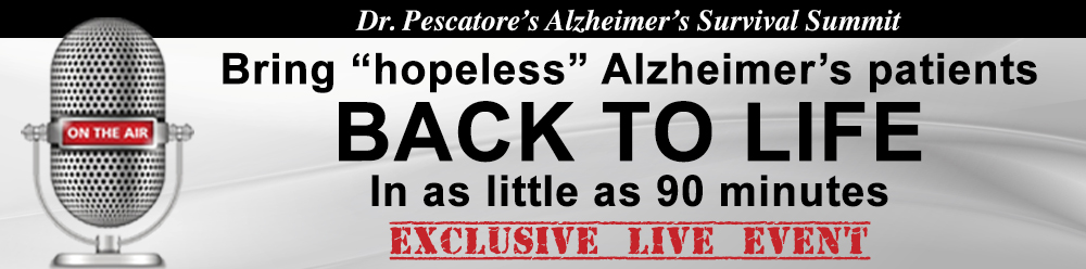 Dr. Fred Pescatore's Alzheimers Survival Summit